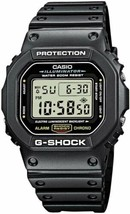 Casio G-Shock Classic Black Digital Dw5600-1 Watch NEW - $103.49