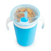 Munchkin Sippy Straw Cup and Snack Catcher Blue - $49.81