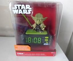 yoda alarm clock with lithsaber - $36.44