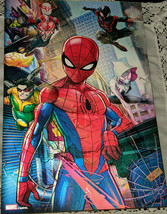 Marvel Spiderman 3D Hologram Wall Art Superheros Villains Large Changing Picture - $26.95