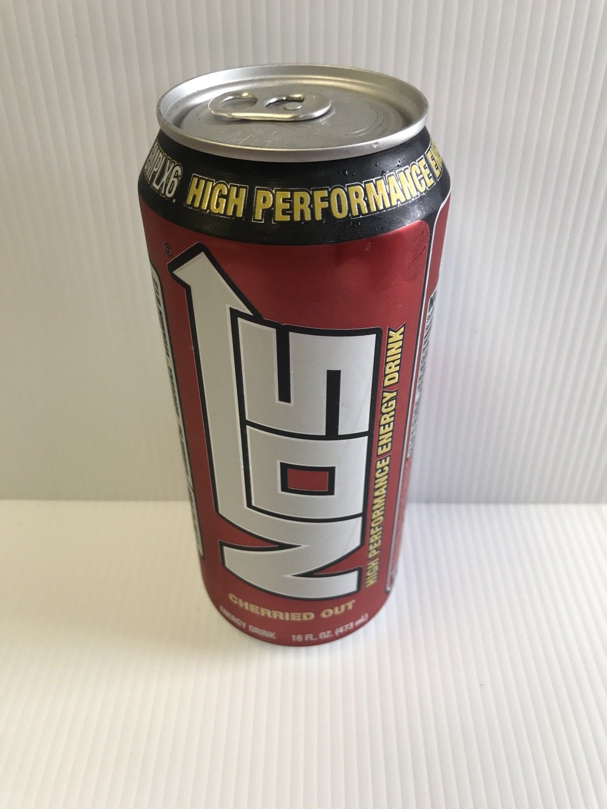 Nos Energy Drink Cherried Out 16oz Rare & Discontinued Can