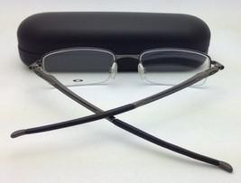New OAKLEY Eyeglasses Rhinochaser OX 3111-0154 Semi-Rimless Cement/Grey Frames - $199.99