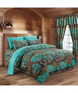 The Woods Teal Licensed 9 Piece Twin/Single Size Comforter, Sheet Set & ... - $76.00