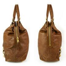 BALENCIAGA Tan Brown Leather Giant 21 Gold Weekender Bag retailed at $2,385  image 5