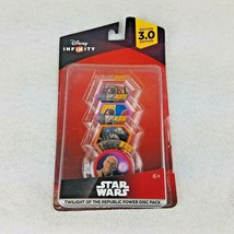 Disney Infinity 3.0 Star Wars Twilight of the Republic Power Disc Pack New - $8.15