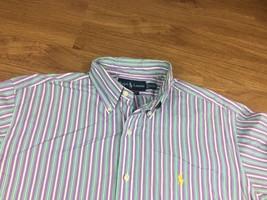 Polo Ralph Lauren Philip Men's Blue  Long Sleeve Casual Shirt Size 15.5 / m - $8.59