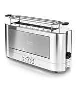 Russell Hobbs 2-Slice Glass Accent Long Toaster, Silver & Stainless Stee... - $109.19