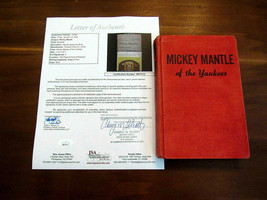 MICKEY MANTLE NEW YORK YANKEES HOF SIGNED AUTO MM OF THE YANKEES 1958 BO... - $692.99