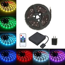 LED SMD 5050 Waterproof 6.5ft 60leds 5V RGB Color Changing Flexible Rope Strip T