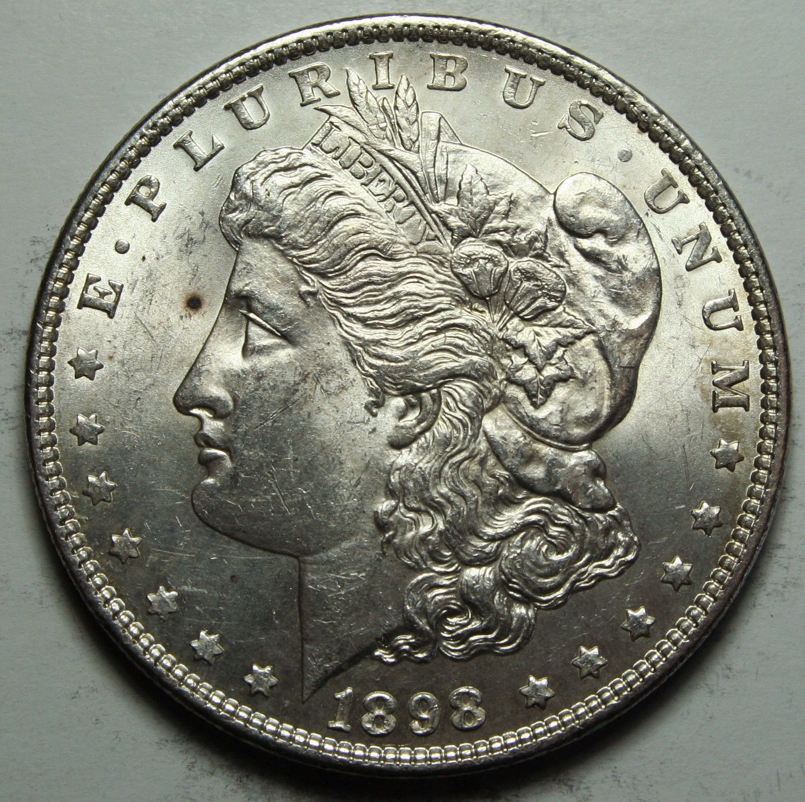 1898 MORGAN SILVER DOLLAR COIN Lot# D 64