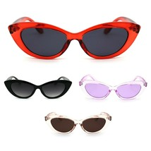 Womens Mod Thick Plastic Cat Eye Gothic Sunglasses - $9.95