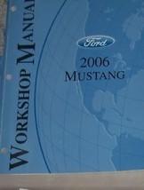 2006 Ford Mustang Gt Cobra Mach Service Shop Repair Manual Factory 06 Oem Dealer - $178.29