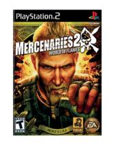 Mercenaries 2: World in Flames (PlayStation 2, 2008) - No Manual - $6.92