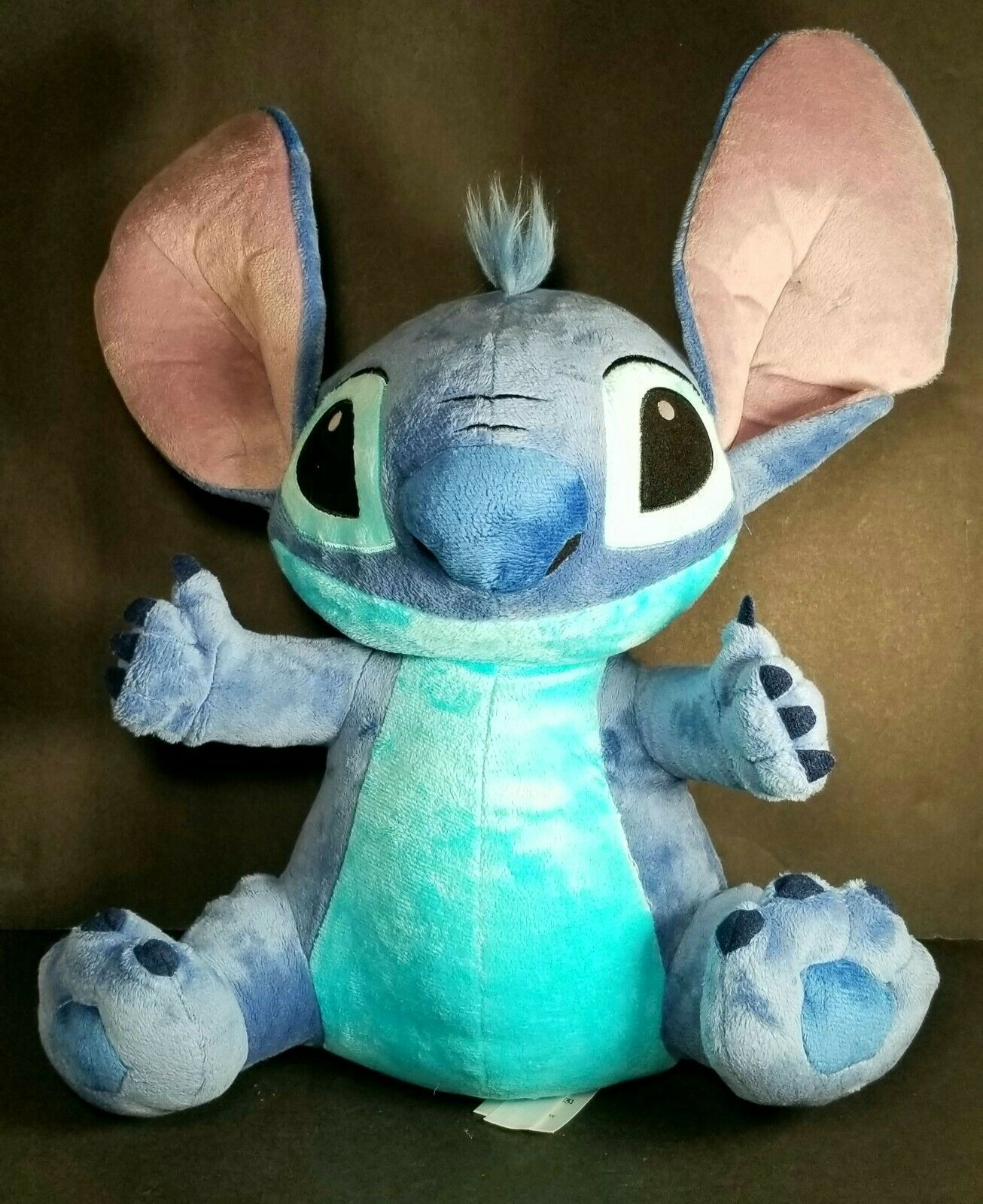 "Primary image for Large 16"" Disney Store Original Lilo & Stich Blue Stuffed Plush Character Toy"