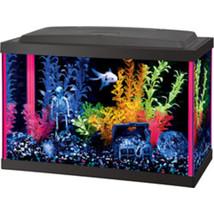 Aqueon Pink Aqueon Neoglow Aquarium Kit Rectangle 5.5 Gallon - $108.02