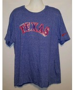 Texas Rangers T Shirt Nike Tee Mens XXXL 3XL MLB Baseball swoosh - $14.52