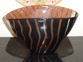 KOSTA BODA TONGA BOWL BY MONICA BACKSTROM, SWEDEN - $99.00