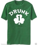 New Adult Drunk 1 TShirt Clearance Size 2XL St. Patrick's Day - $17.81