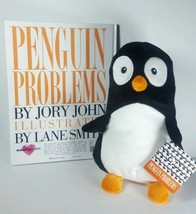 "Kohl's Cares Penguin Problems Book & 11"" Penguin Plush Black Stuffed Toy Gift - $23.33"