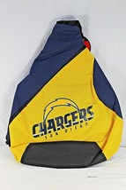 San Diego Chargers Sling Backpack Teardrop Navy Blue /Yellow - ₹2,444.05 INR