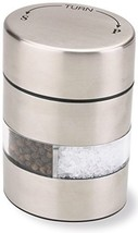 "Olde Thompson 4"" Stainless Steel Pepper Mill and Salt Mill 2-in-1 Combo ... - $15.21"
