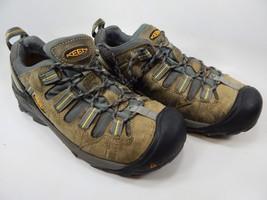 Keen Detroit Low Top ESD Size 10 M EU 43 Men's Soft Toe Work Shoes Green