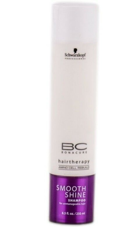 Schwarzkopf BC Smooth Shine Shampoo 8.5oz for unmanageable-hair