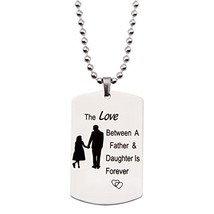 MAOFAED The Love Between A Father and Daughter is Forever,Personalized N... - $11.04