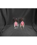 Stroh's Beer Glasses Set of 2 Rastal Tumblers Made in Germany Stroh Coat... - $9.50