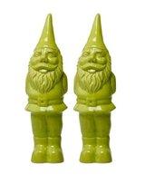 Chive - Gnome, Ceramic Garden Gnome, in Peridot