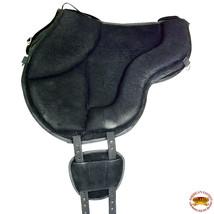 Hilason Horse Bareback Saddle Ride on Pad Anti Slip Base Black U-3-BK - $178.95