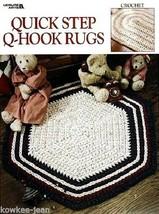 Quick Step Q-Hook rag Rugs crochet patterns using yarn, quick, easy, fun... - $12.73