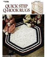 Quick Step Q-Hook rag Rugs crochet patterns using yarn, quick, easy, fun LA3068 - $12.73
