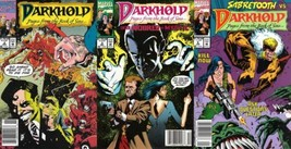 Darkhold: Pages from Book of Sins #2-4 Newsstand Covers (1992-1994) Marvel - $12.19