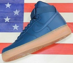 Nike Air Force 1 One High SE Basketball Shoes Turquoise [860544-300] Wom... - $74.77