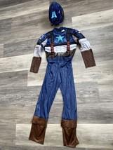 Marvel Avengers Captain America Child Costume Medium 7-8 - $8.00