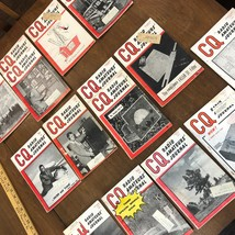 13 Issues  CQ The Radio Amateurs' Journal Magazine - '53 (5), '54 (6), '... - $14.03