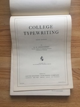 1941 College Typewriting Book - Third Edition - by D.D. Lessenberry image 4