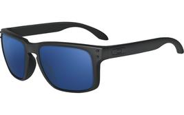 New Oakley Sport Holbrook Matte Black w/Ice Iridium OO9102-28 - $156.75
