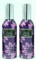 Lot of 2 Bath and Body Works Black Cherry Merlot Home Room Spray Air Fresheners - $17.99