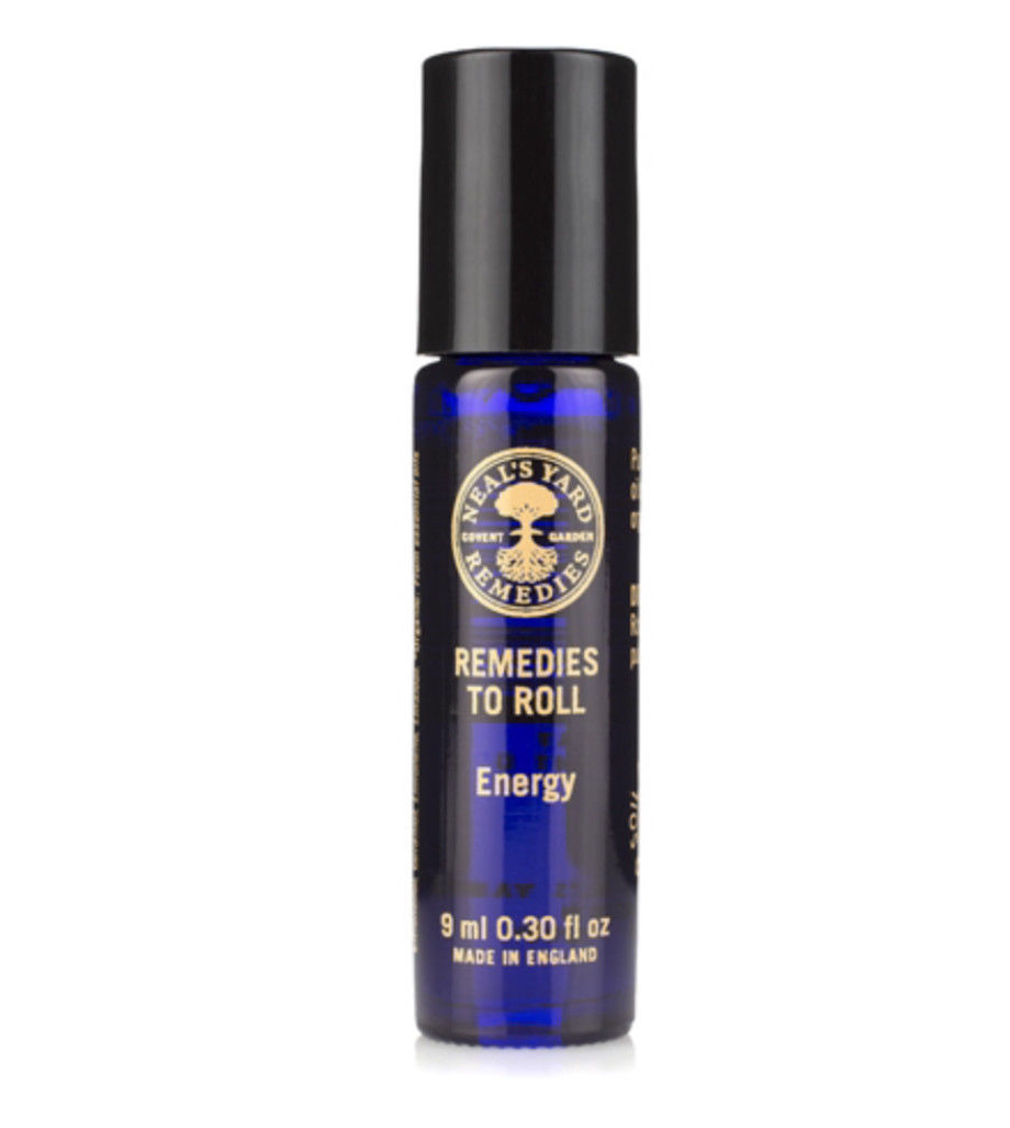 NYR Neal's Yard Remedies Organic remedies to roll energy essential oil blend new