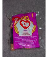 Ty Teenie Beanie Babies McDonald's # 1 Doby The Doberman 1998 - $19.00