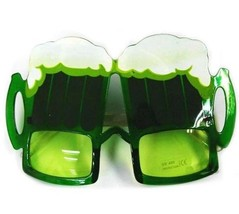 GREEN BEER PARTY SUNGLASS  eyewear ST PATRICK DAY - $6.31
