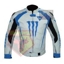 DAINESE 1011 SKY BLUE WATERPROOF COWHIDE LEATHER MOTORCYCLE BIKERS ARMOR... - $289.99