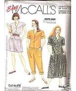 McCall' s 0022 Misses' Jumpsuits & Dress 16-18-20 Pattern - $1.75