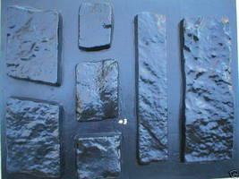 OKL-43K Limestone Veneer Rocks & DIY Supplies Kit+ 43 Molds Make 1000s of Stones image 8