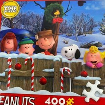Ceaco Peanuts Together Time Winter Christmas Holiday 400 Pieces Puzzle C... - $7.91