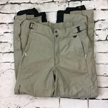 Columbia Sportswear Mens Sz S Ski Snowboarding Pants Gray Adjustable Waist - $24.74