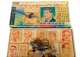 Our Presidents ATF Toys Woodburing game classic RARE wonder pen wood JFK... - $346.50
