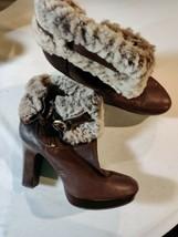 Ugg Boots Size Uk 8.5 Heels - $64.55